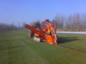 Drainage bestaande golfbaan