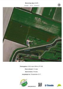 GPS-registratie kaart